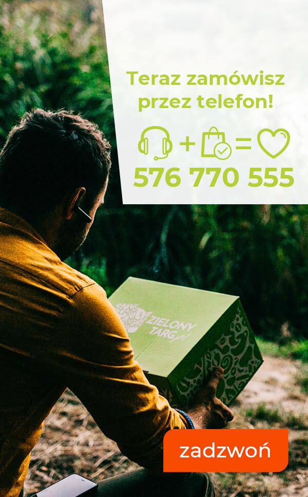 Teraz złożysz swoje zamówienie przez telefon!