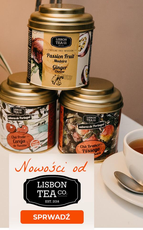 Kolejne nowości od Lisbon Tea! Sprawdź nowe wyjątkowe smaki prosto z Lizbony