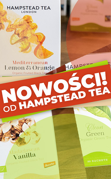 Wypróbuj wyjątkową serię herbat od Hampstead Tea!