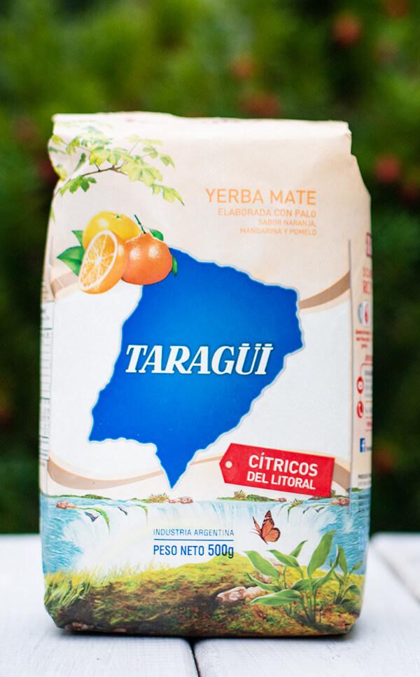 Taragui - Citricos del Litoral cytrusowa | yerba mate | 500g