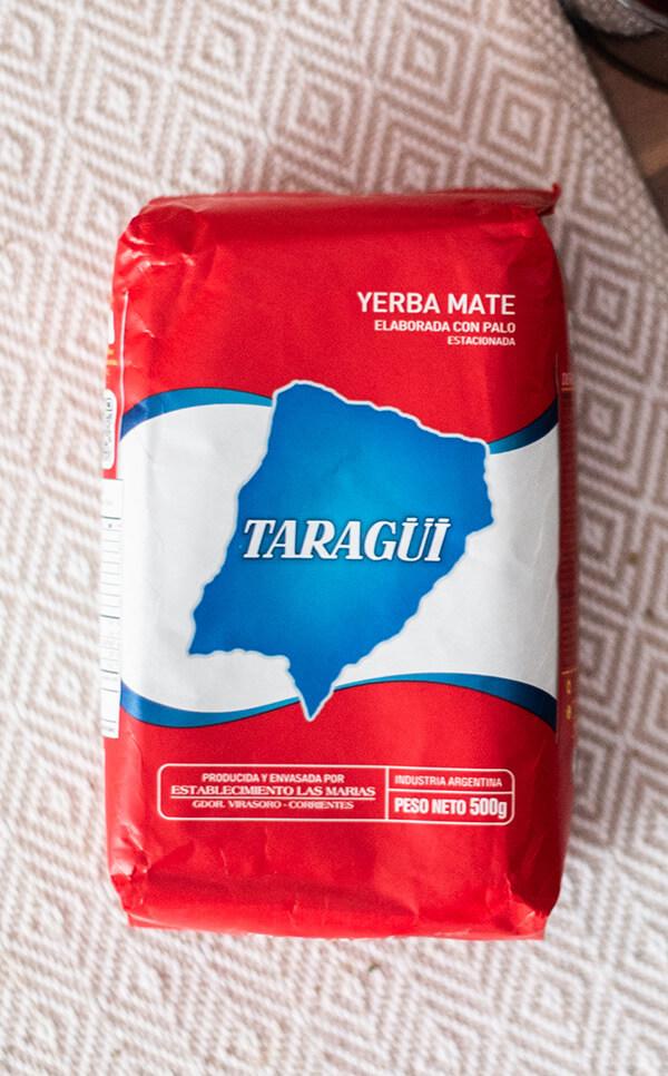 Taragui - Elaborada Con Palo Tradicional | yerba mate | 500g