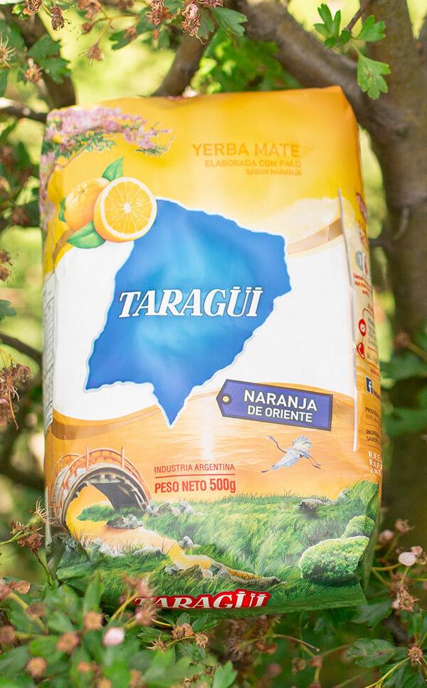 Taragui - Naranja de Oriente Pomarańczowa | yerba mate | 500g
