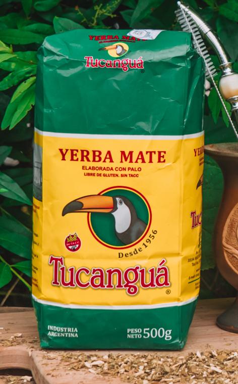 Tucangua - Elaborada con palo | yerba mate | 500g