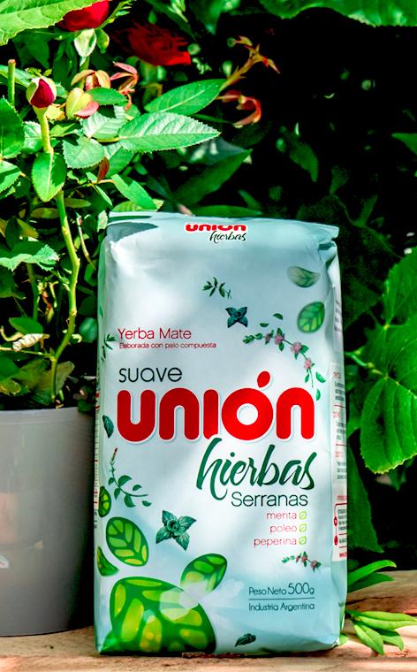 Union - hierbas Serranas    yerba mate   500g