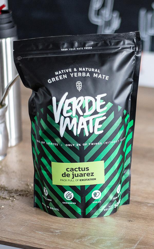 Verde Mate - Green Cactus de Juarez | yerba mate kaktusowa | 500g