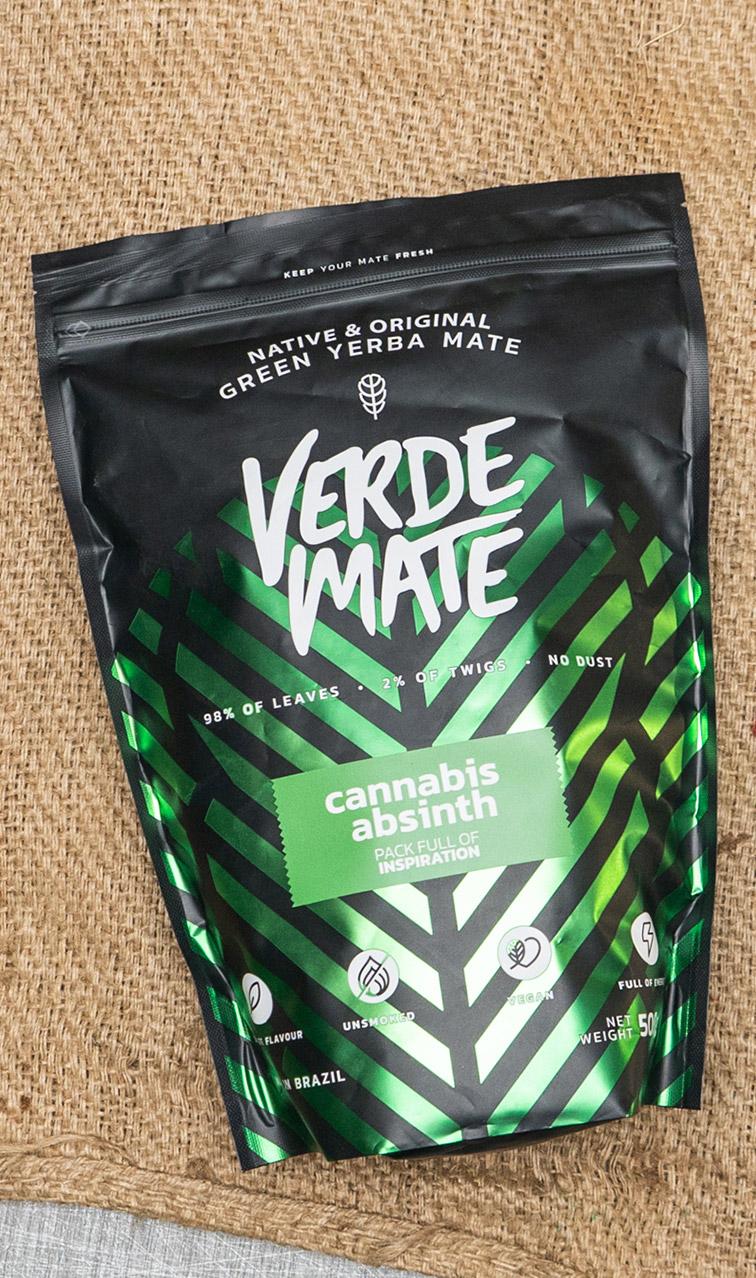 Verde Mate - Green Cannabis Absinth   yerba mate   500 g