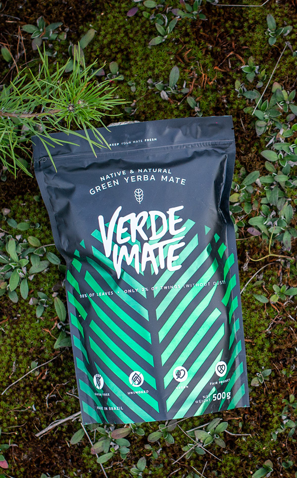 Verde Mate - Green Despalada | yerba mate | 500 g