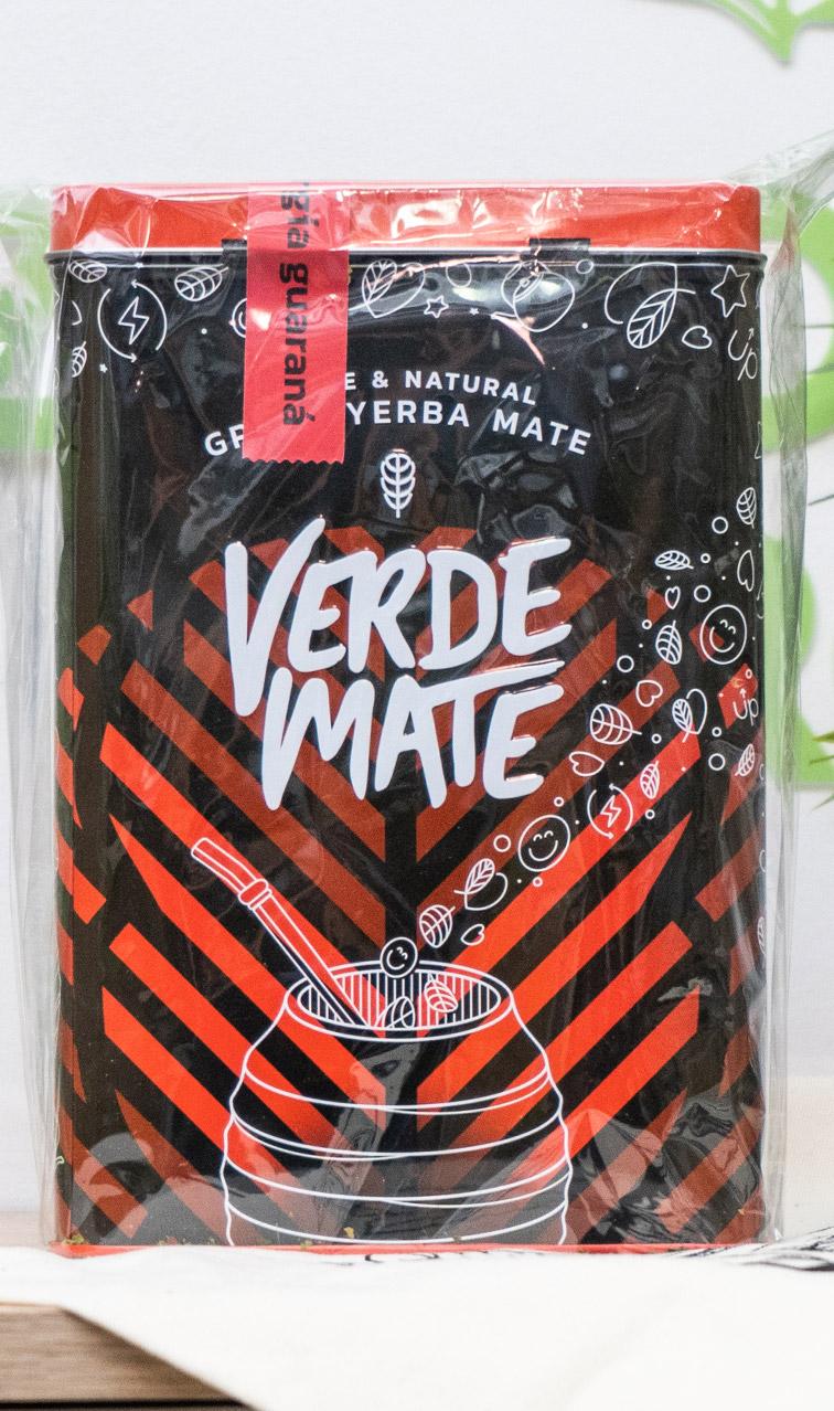 Verde Mate - Green Energia Guarana w puszce | yerba mate | 500g