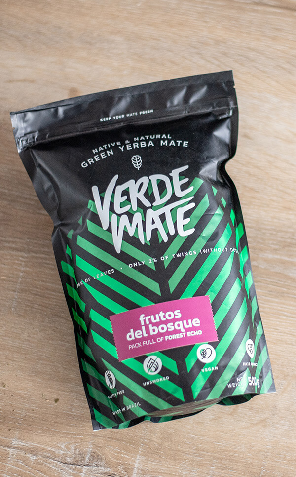 Verde Mate - Green Frutos del Bosque | yerba mate | 500g