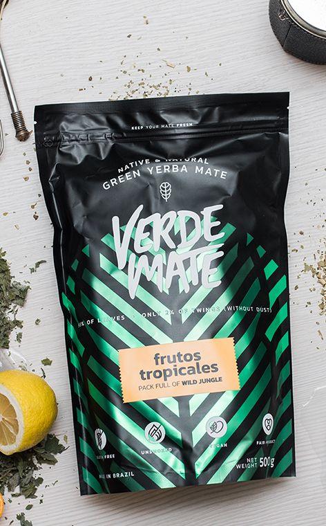 Verde Mate - Green Frutos Tropicales | yerba mate | 500 g