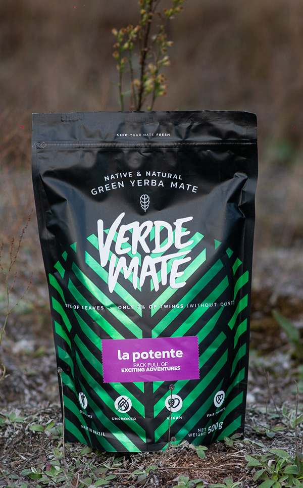 Verde Mate - Green La Potente | yerba mate | 500 g