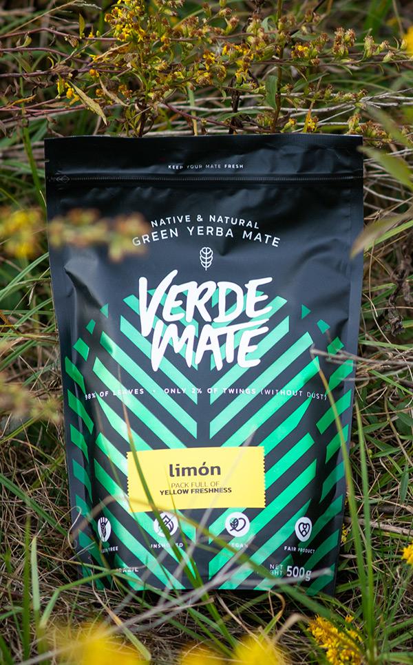 Verde Mate - Green Limon cytrynowa | yerba mate | 500 g