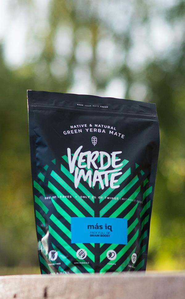 Verde Mate - Green Mas IQ | yerba mate | 500 g