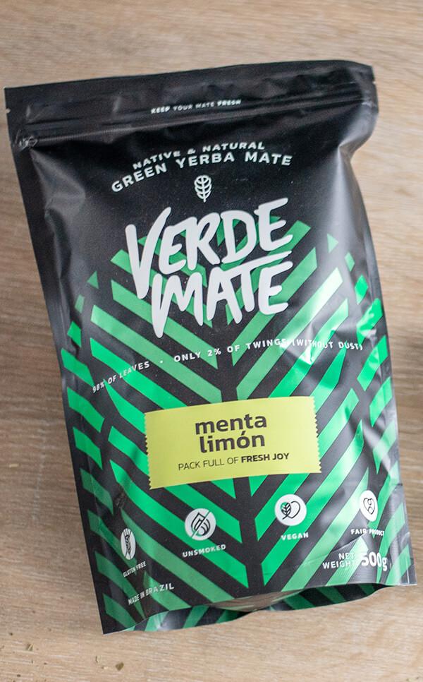Verde Mate - Green Menta Limon | yerba mate | 500g