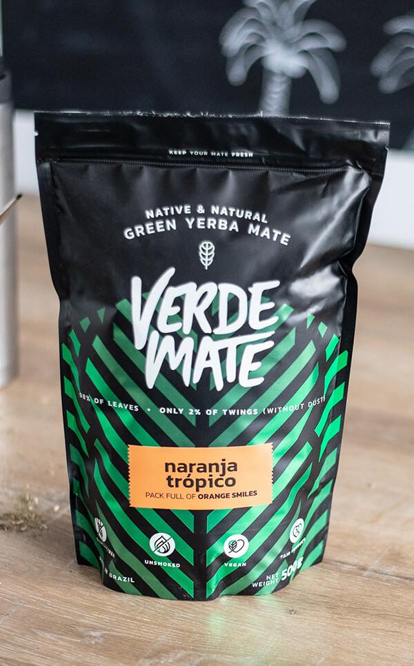 Verde Mate - Green Naranja Tropico | yerba mate | 500g