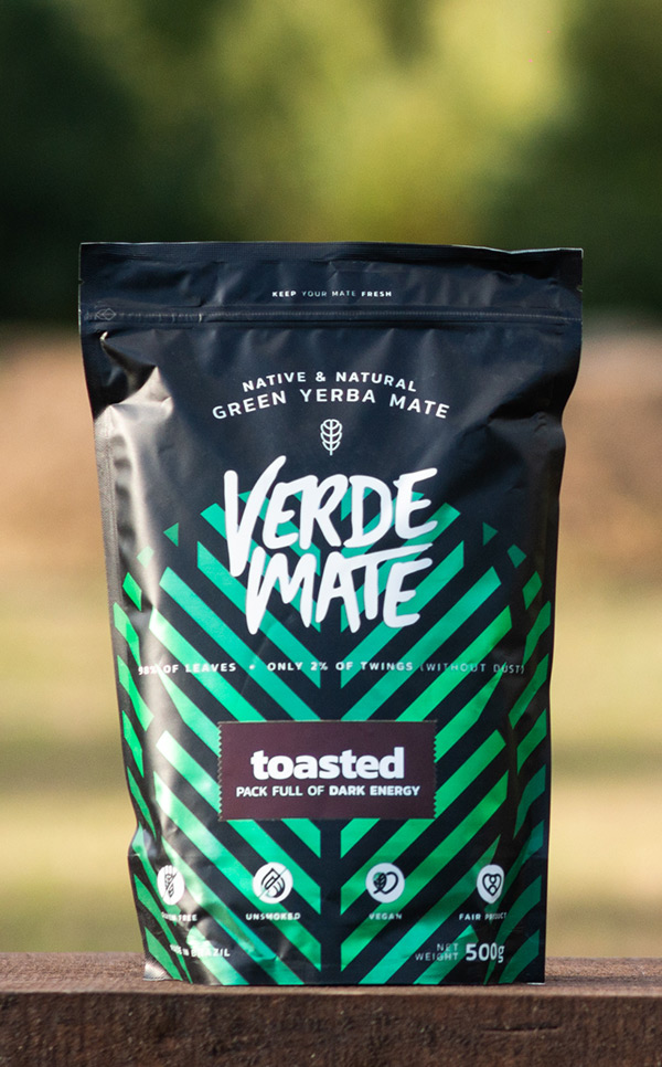 Verde Mate - Green Toasted Tostada | yerba mate | 500 g