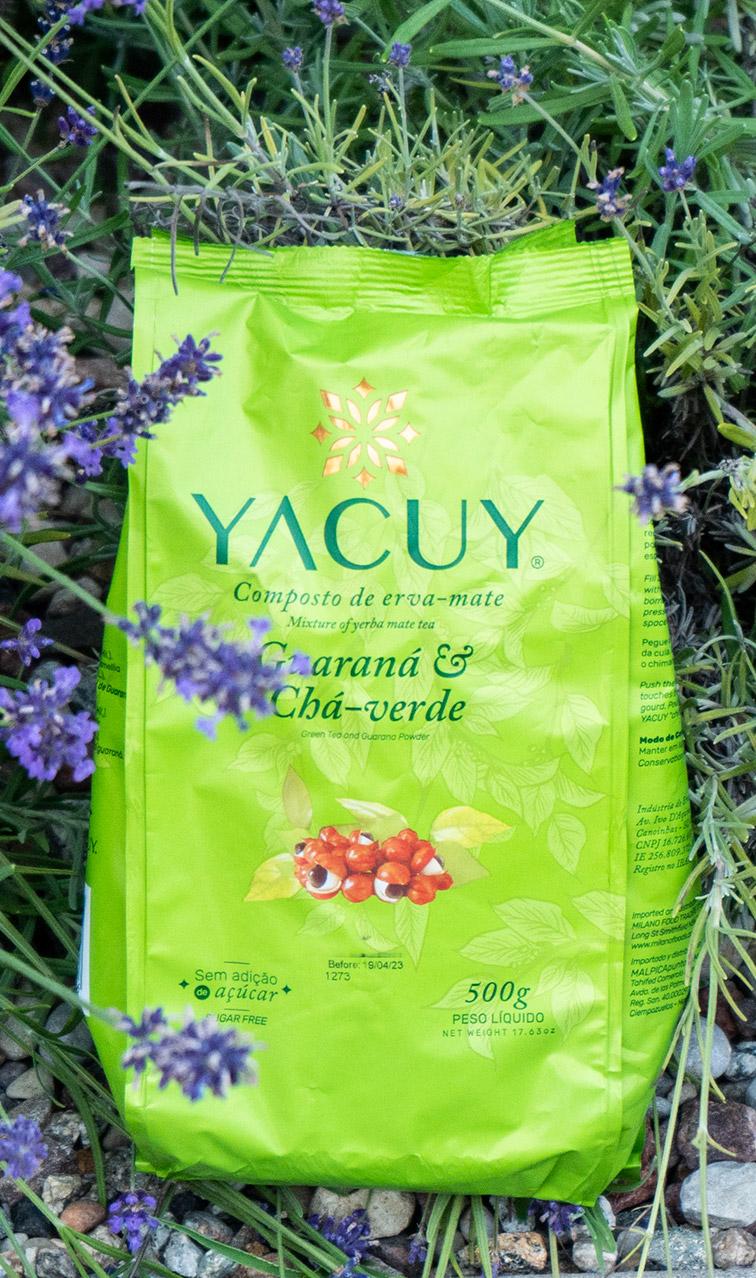 Yacuy - Guarana - Cha Verde | yerba mate chimarrao | 500g