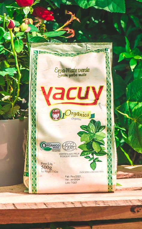 Yacuy - Organica   yerba mate chimarrao   500g