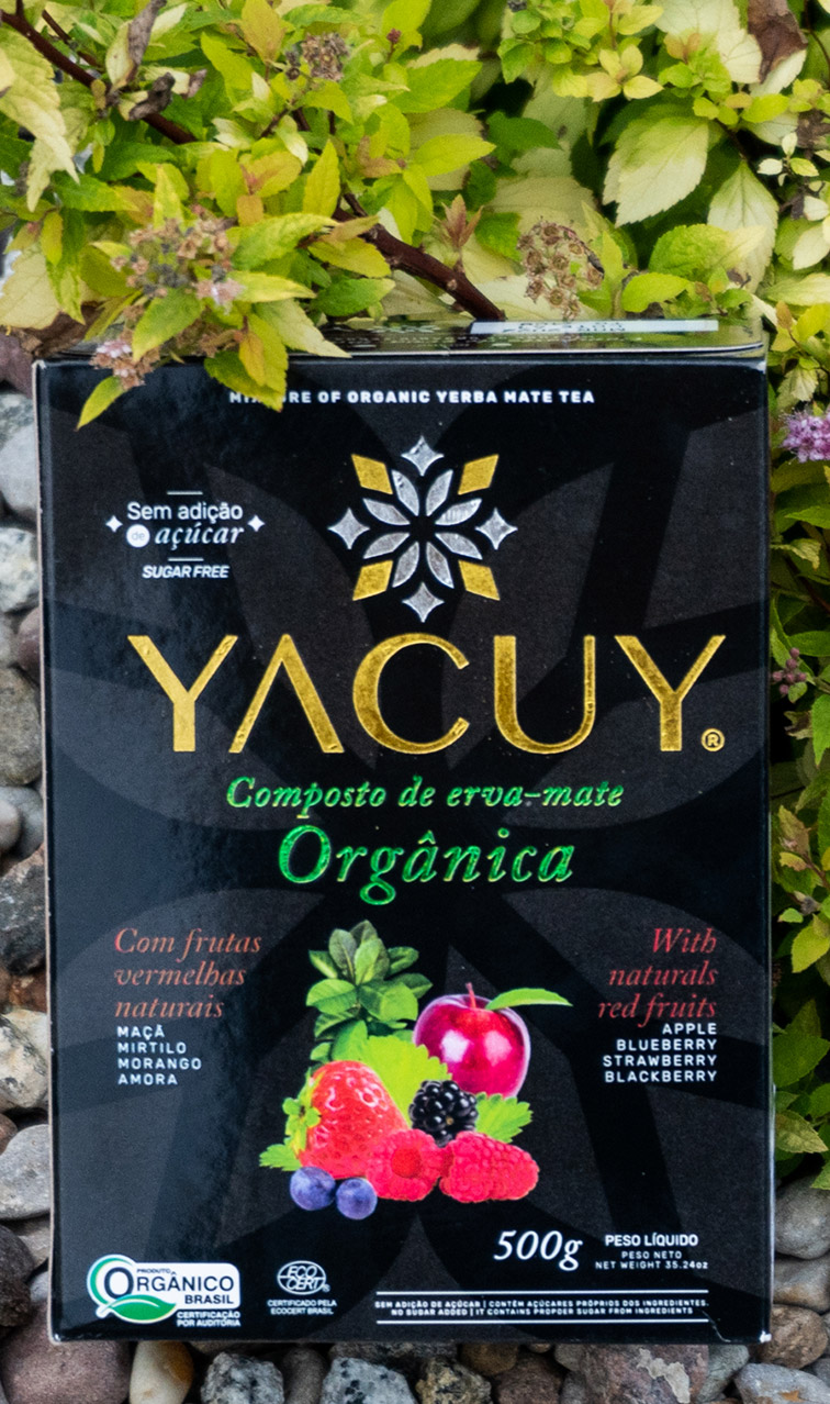 Yacuy - Red Fruits Organic | organiczna yerba mate chimarrao | 500g