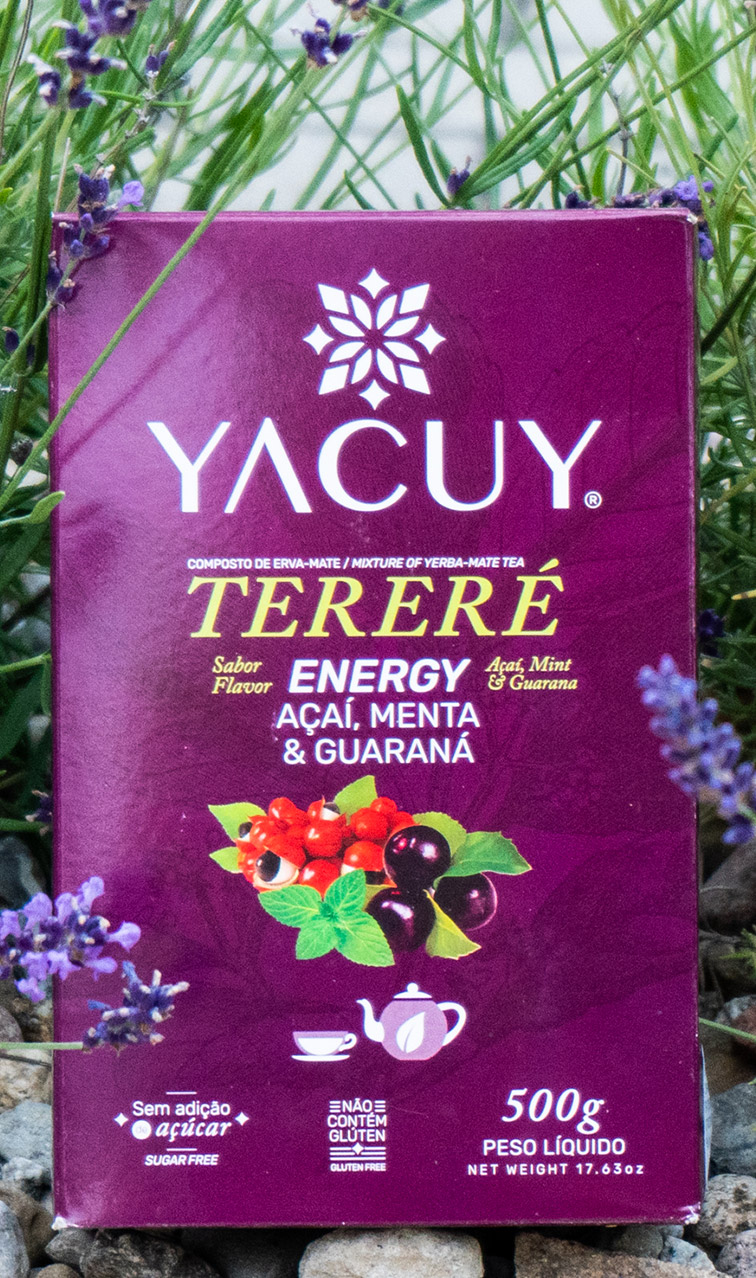 Yacuy - Terere Energy | yerba mate z guaraną | 500g