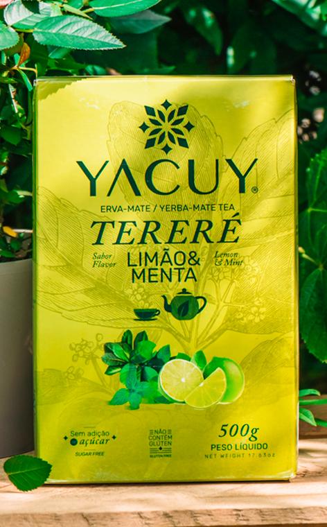 Yacuy - Terere Limao & Menta   orzeźwiająca yerba mate   500g