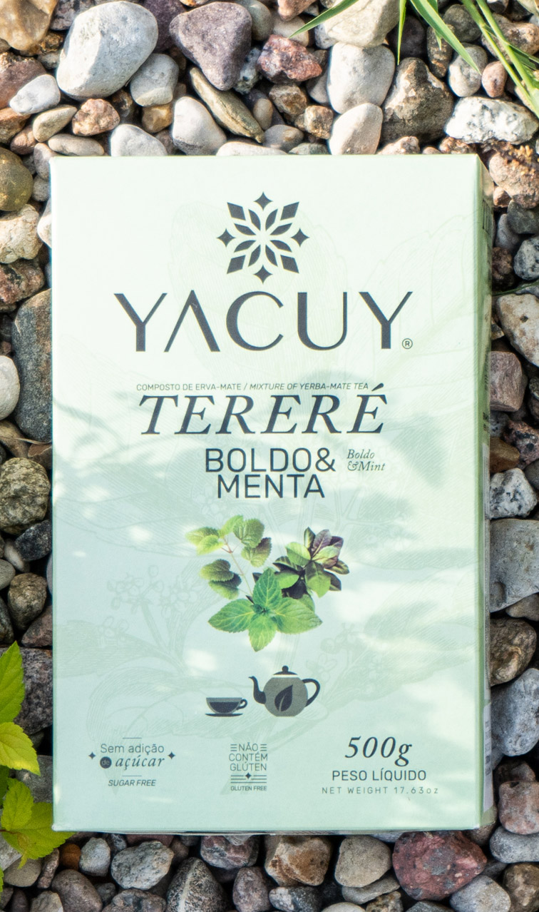 Yacuy - Terere - Menta Boldo | yerba mate do terere |500g