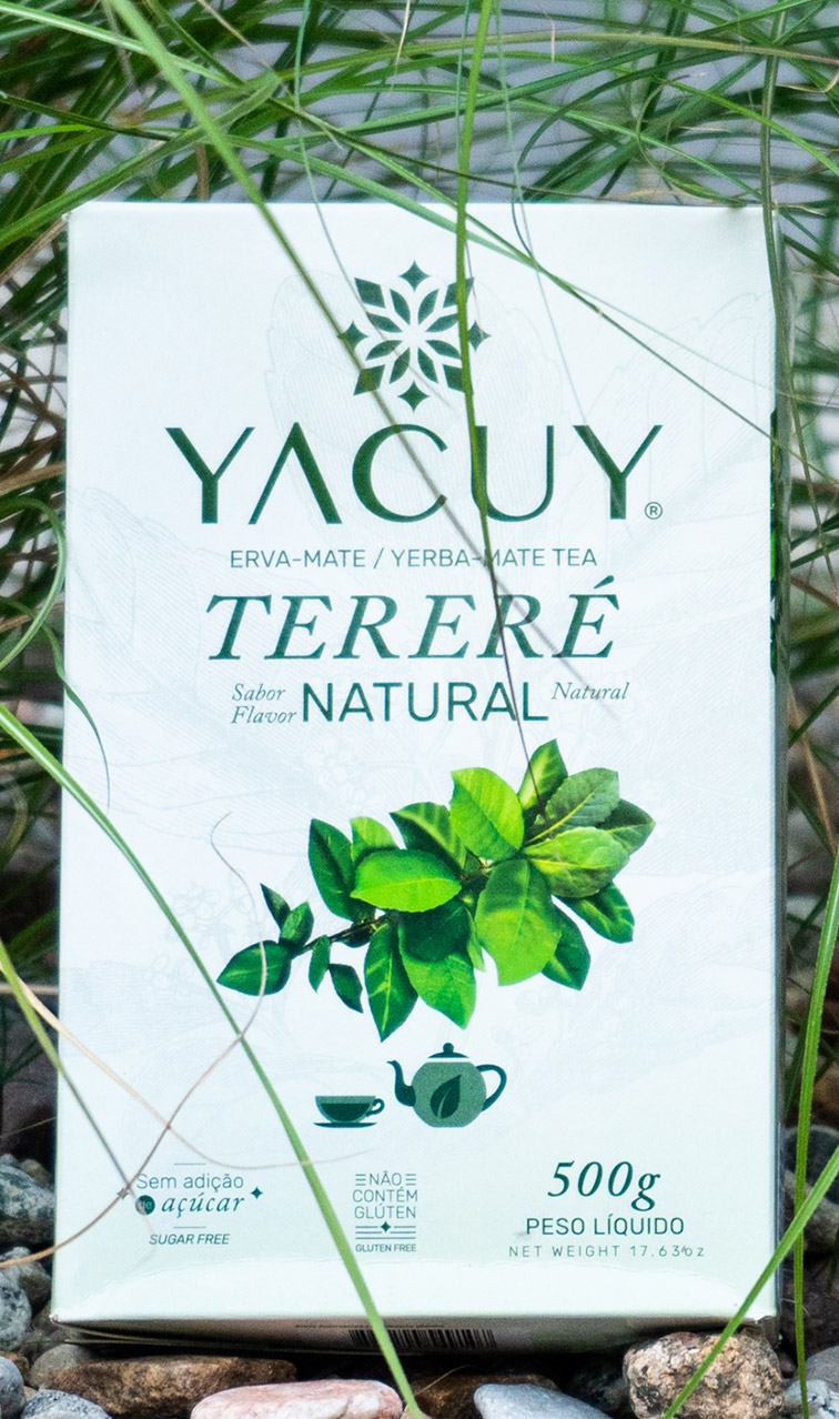 Yacuy - Terere Natural | yerba mate do terere | 500g