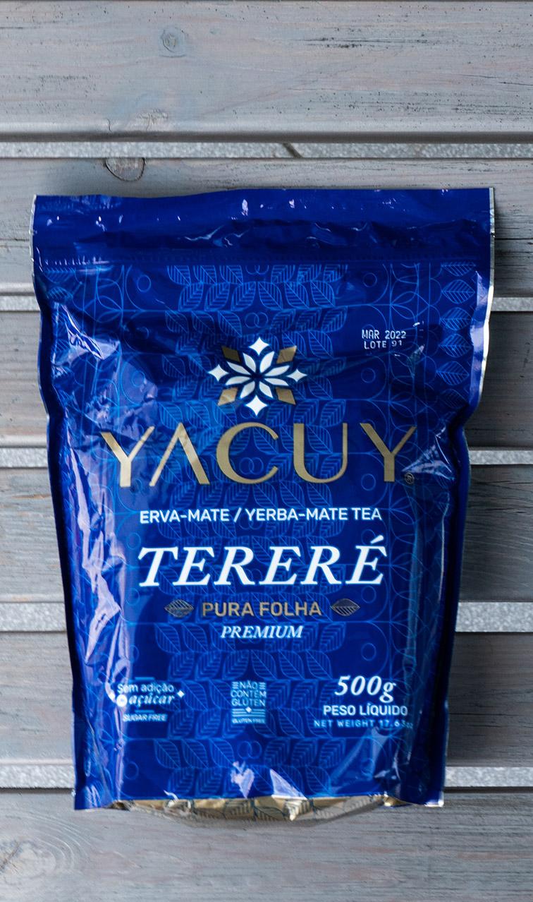 Yacuy - Terere Pure leaf | yerba mate bez patyczków | 500g