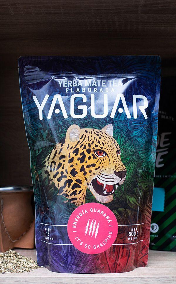 Yaguar - Energia Guarana | yerba mate z guaraną | 500g