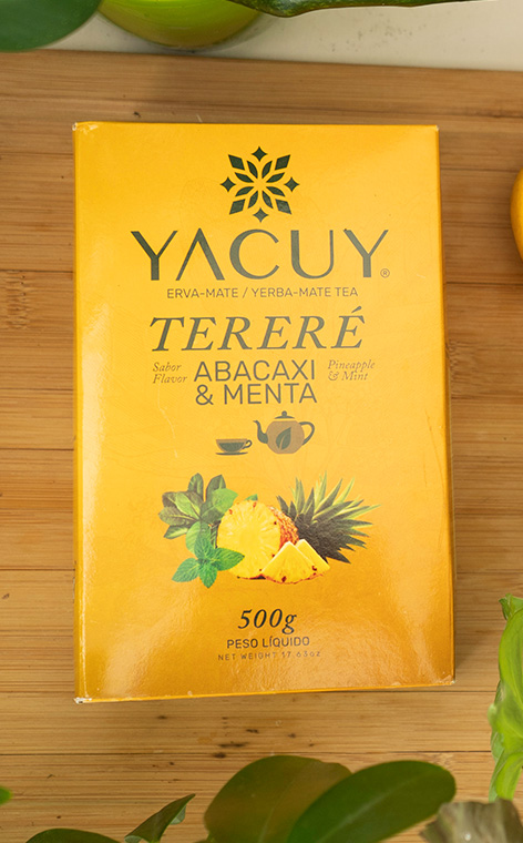 Yacuy - Terere Pineaple  abacaxi-menta  500g