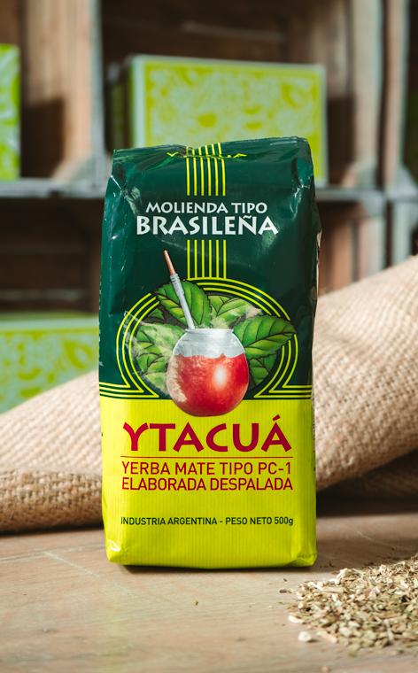 Ytacua - Molienda Tipo Brasilena | yerba mate | 500g